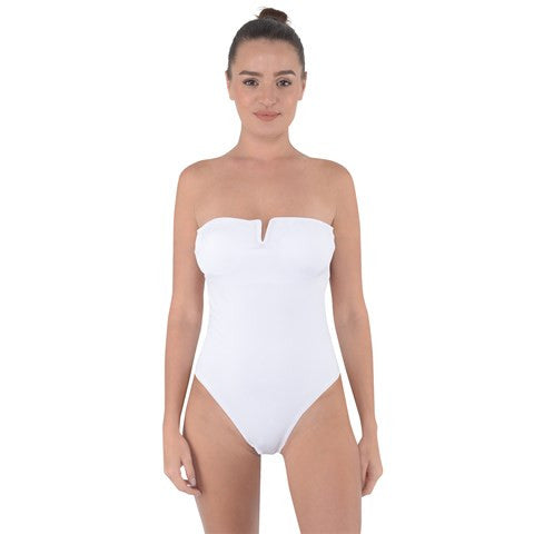 Design Your Own! Custom Tie Back One Piece Swimsuit