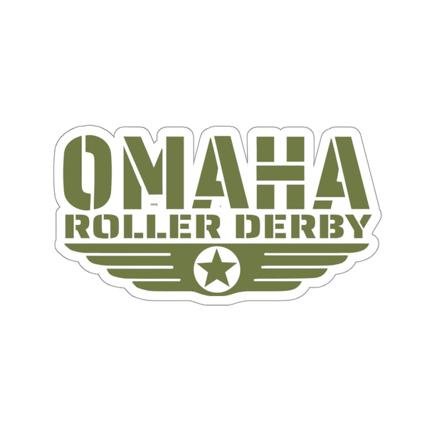Omaha Roller Derby Kiss-Cut Stickers