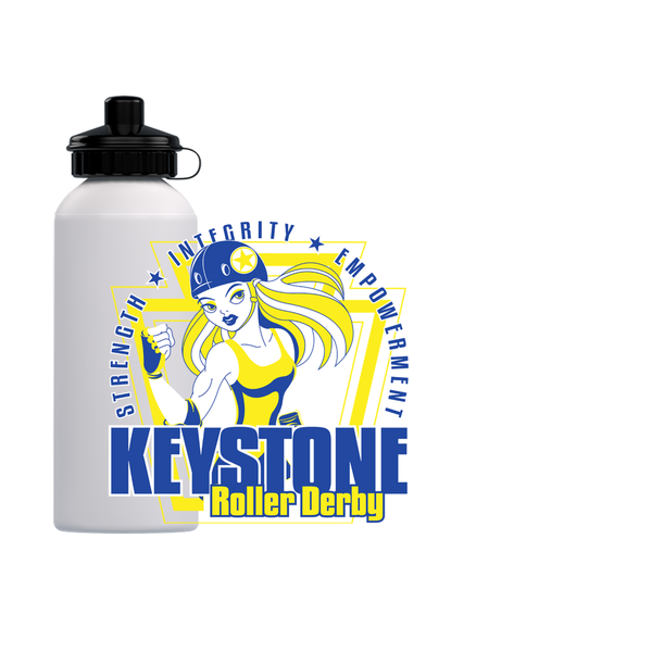 Keystone Roller Derby Water Bottles