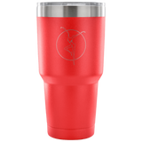 DMB Fire Dancer Etched  Insulated Coffee Tumbler