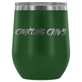 Counting Crows Etched Wine Tumbler