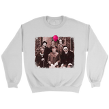 Horror Family Photo Crewneck Sweatshirt
