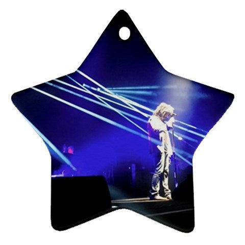 Counting Crows Adam Star Ornament