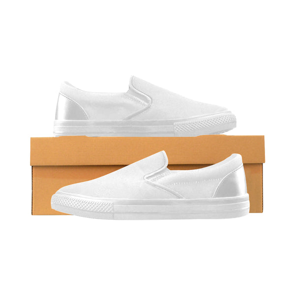Vans Slip On Style Women's Slip-on Canvas Shoes (Model 019)