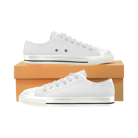 Converse Style Large Size Canvas Women's Shoes/Large Size (Model 018)