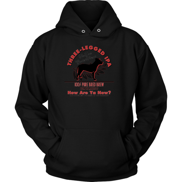 How Are Ya Now Podcast Three Legged Dog IPA Hoodie