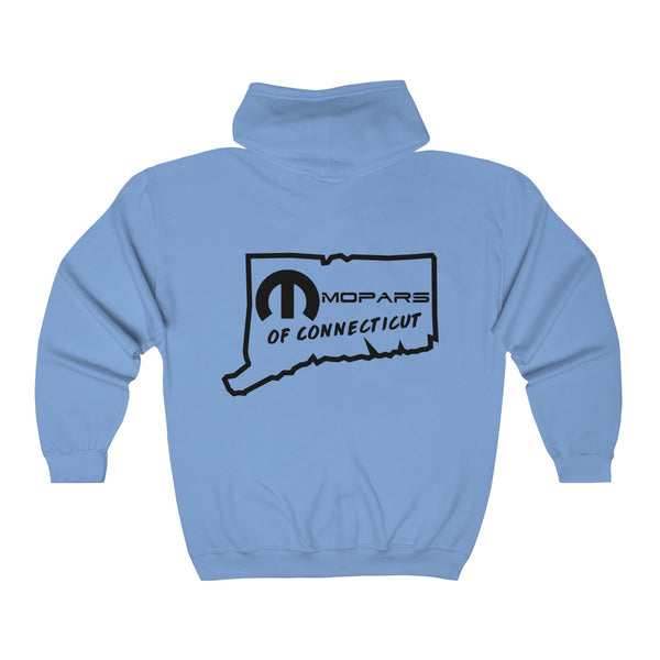 MOPARS of Connecticut Heavy Blend™ Full Zip Hooded Sweatshirt