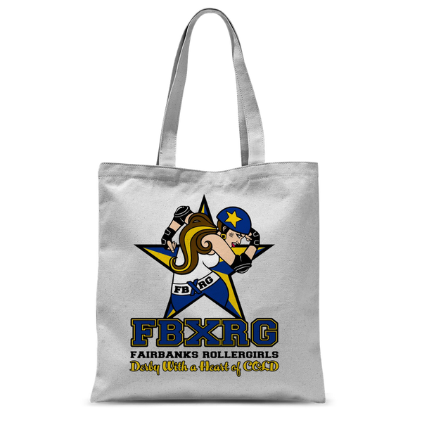 Fairbanks Rollergirls FBXRG Classic Sublimation Tote Bag