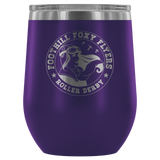 Foothill Foxy Flyers 12oz Wine Tumbler