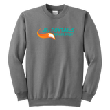 Foothill Foxy Flyers Jr Foxtails Roller Derby Youth Crewneck