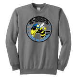 K-Bees Jr Roller Derby Youth Crewneck