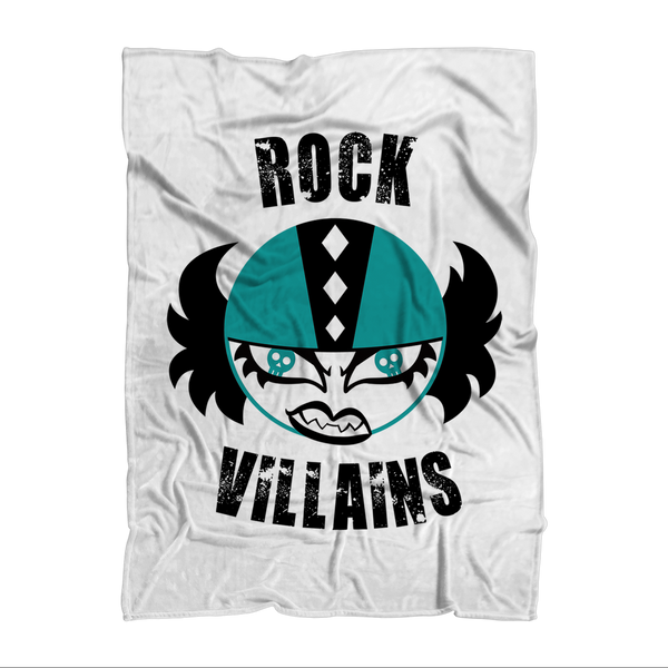 Rock Villains Free State Roller Derby Sublimation Adult Blanket