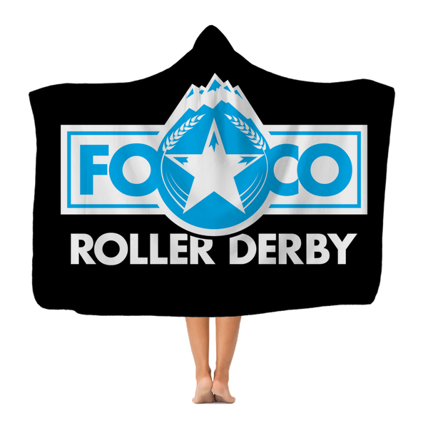 FOCO Roller Derby Classic Adult Hooded Blanket