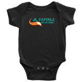 Foothill Foxy Flyers Jr Foxtails Roller Derby Baby Onesie