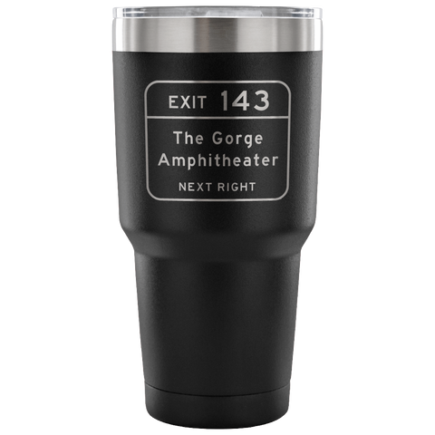 Gorge Exit Etched Insulated Coffee Travel Mug