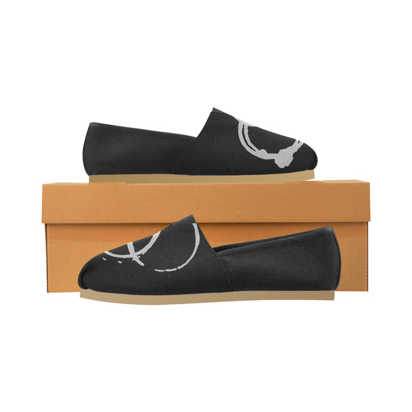 Coffee Ring Tom Style Slipons Women's Casual Shoes (Model 004)