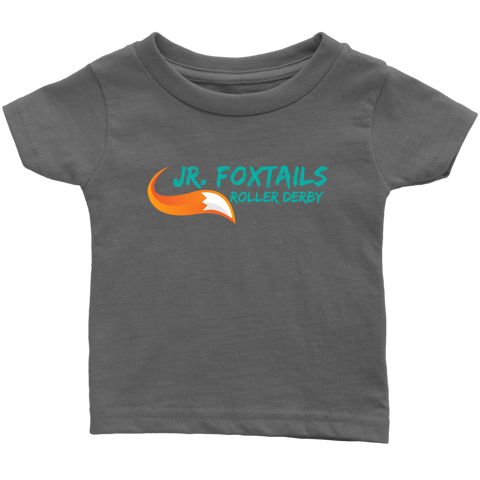 Foothill Foxy Flyers Jr Foxtails Roller Derby Infant Tee