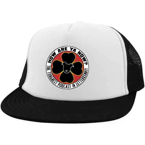 How Are Ya Now Podcast Logo Trucker Hat with Snapback