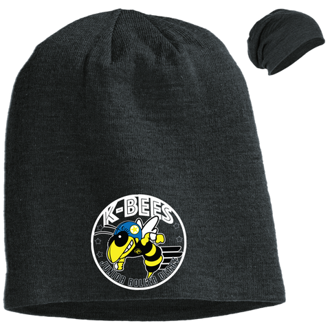 K-Bees Jr Roller Derby Slouch Beanie