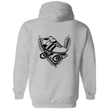 Connecticut Roller Derby Pullover Hoodie 8 oz.