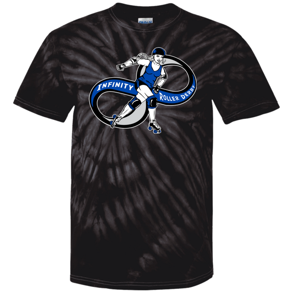 Infinity Roller Derby Youth Tie Dye T-Shirt