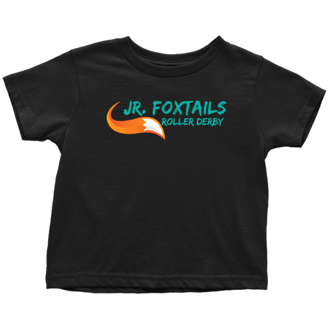 Foothill Foxy Flyers Jr Foxtails Roller Derby Toddler Tee