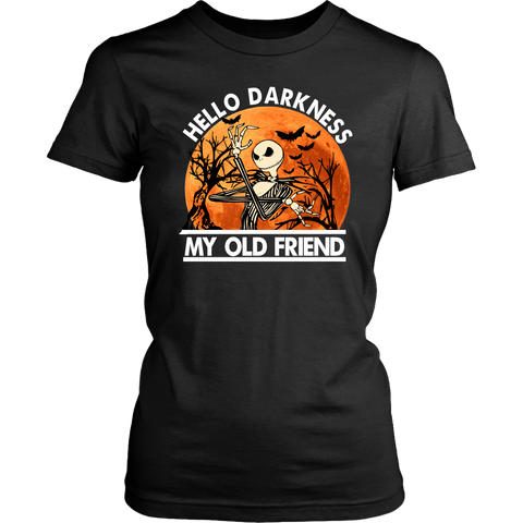Hello Darkness Fitted Tee
