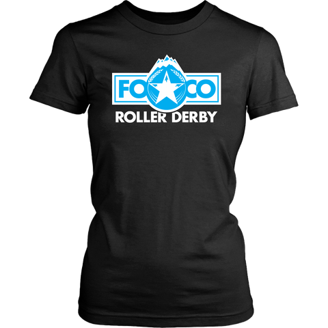 FOCO Roller Derby Womens Cut Tee