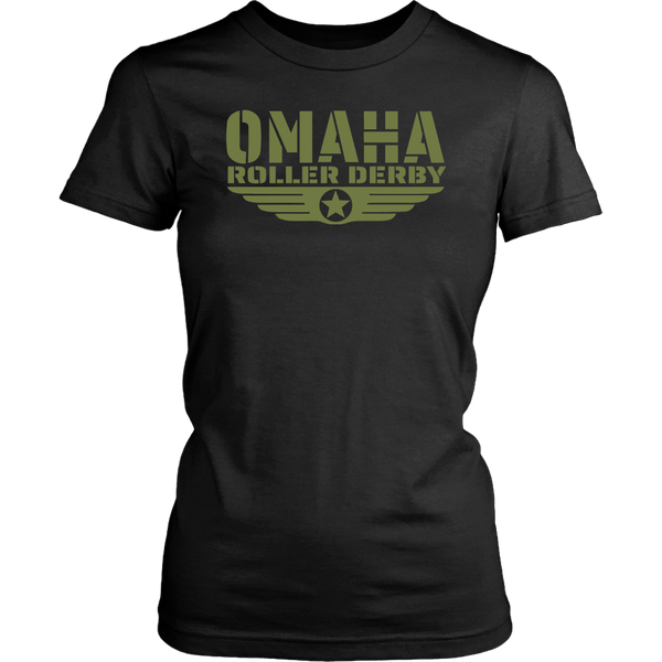 Omaha Roller Derby Fitted Tee