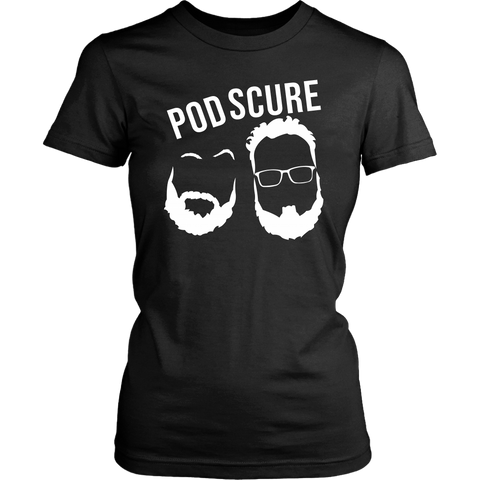 PodScure Logo Fitted Tee