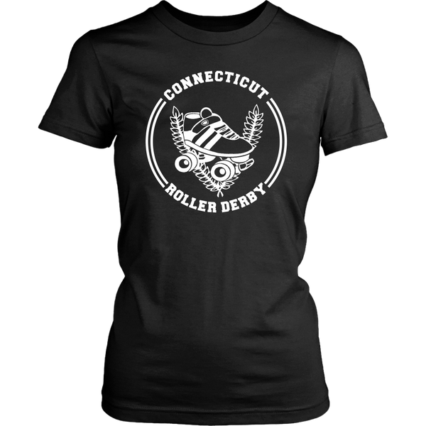 Connecticut Roller Derby Fitted Tee