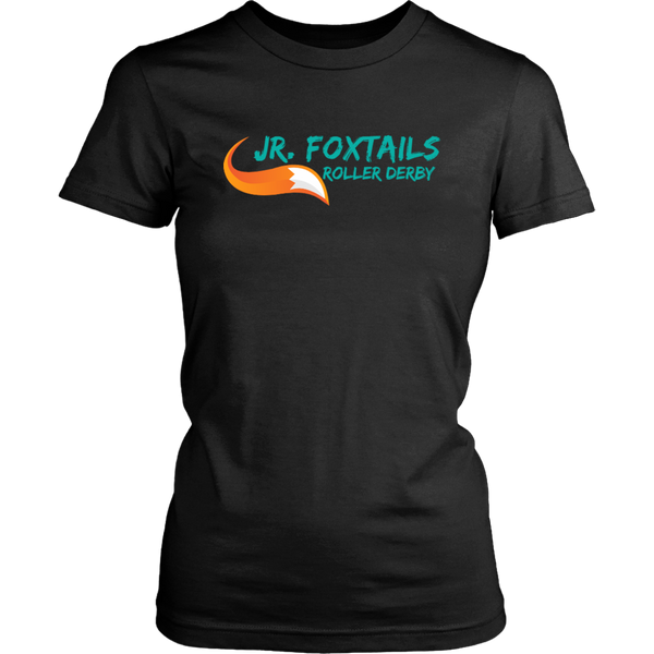 Foothill Foxy Flyers Jr Foxtails Roller Derby Fitted Tee