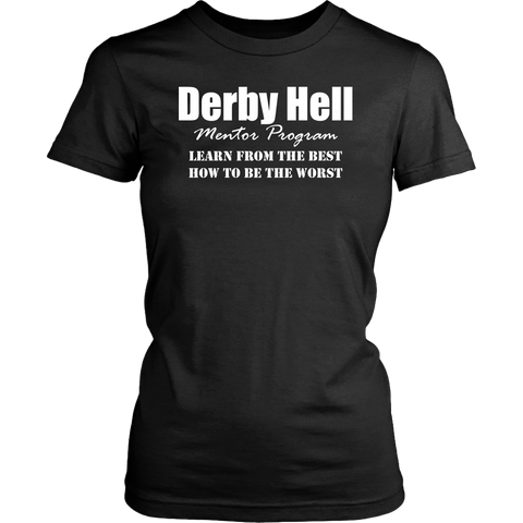Derby Hell Mentor Womens Tee