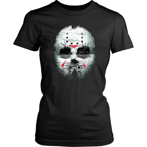 Camp Crystal Lake Jason Fitted Tee