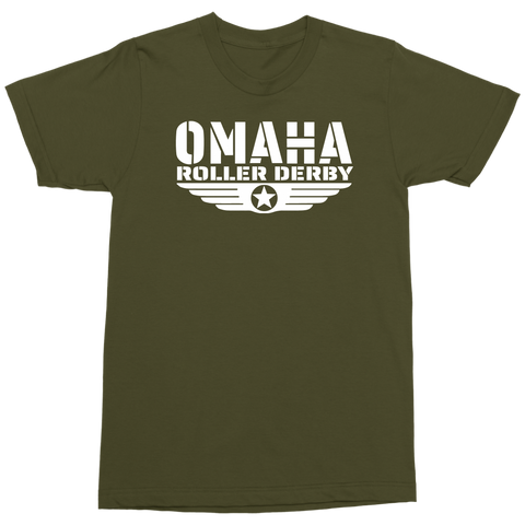 Omaha Roller Derby Military Tee