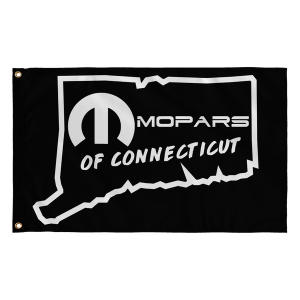MOPARS of Connecticut Black Flag