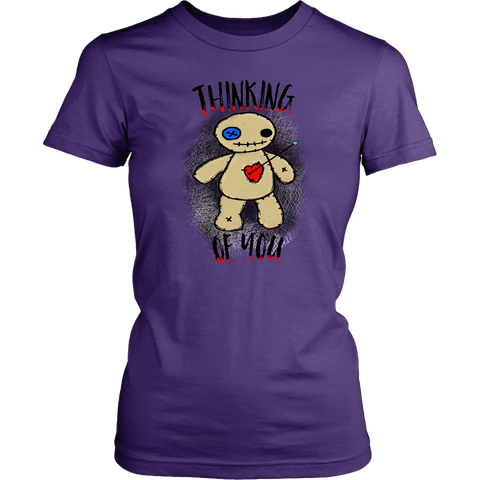 Thinking of You Voodoo Fitted Tee