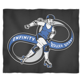 Infinity Roller Derby Fleece Blanket