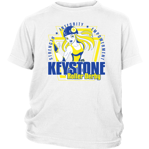 Keystone Roller Derby Youth Tee