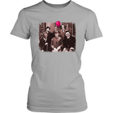 Horror Family Photo Fitted Tee