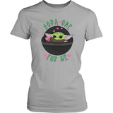 Yoda One For Me Fitted Tee