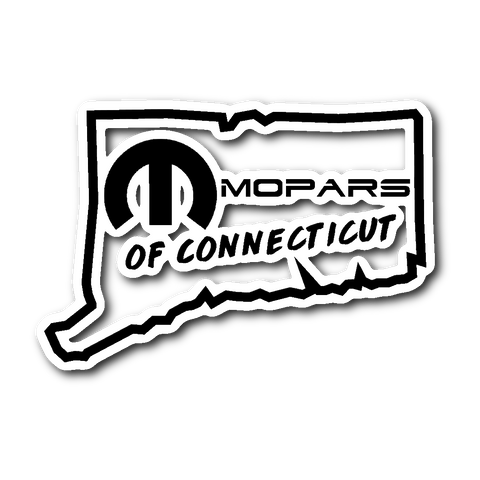 MOPARS of Connecticut Sticker