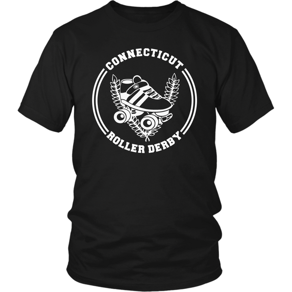 Connecticut Roller Derby Unisex Tee