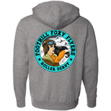 Foothill Foxy Flyers Full-Zip Hooded Sweatshirt