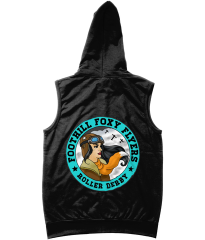 Foothill Foxy Flyers Sleeveless Zoodie
