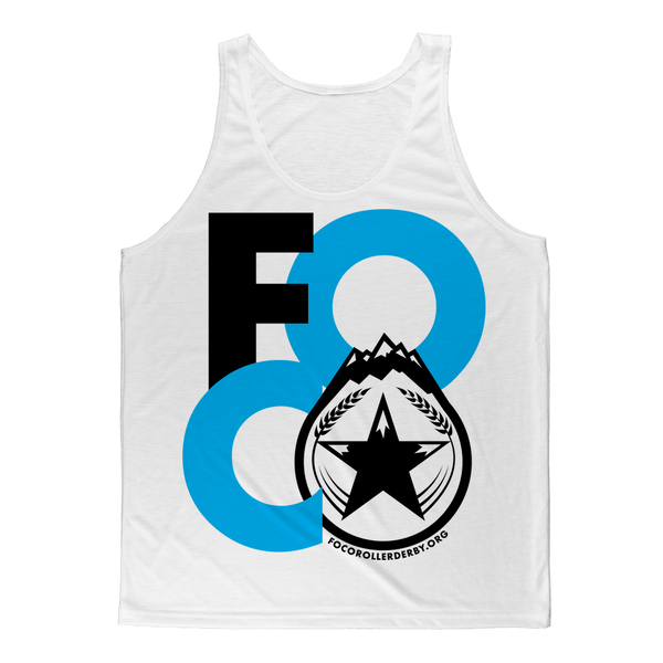 FOCO Roller Derby Classic Sublimation Adult Tank Top