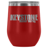 Keystone Roller Derby Insulated Wine Tumbler
