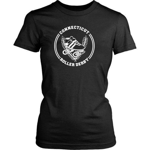 Connecticut Roller Derby Womens Tee