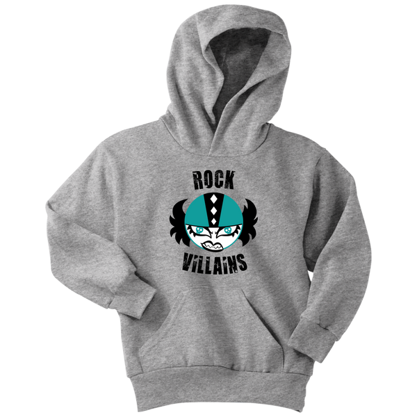 Rock Villains Free State Roller Derby YOUTH Hoodie