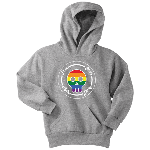 Free State Roller Derby Pride YOUTH Hoodie